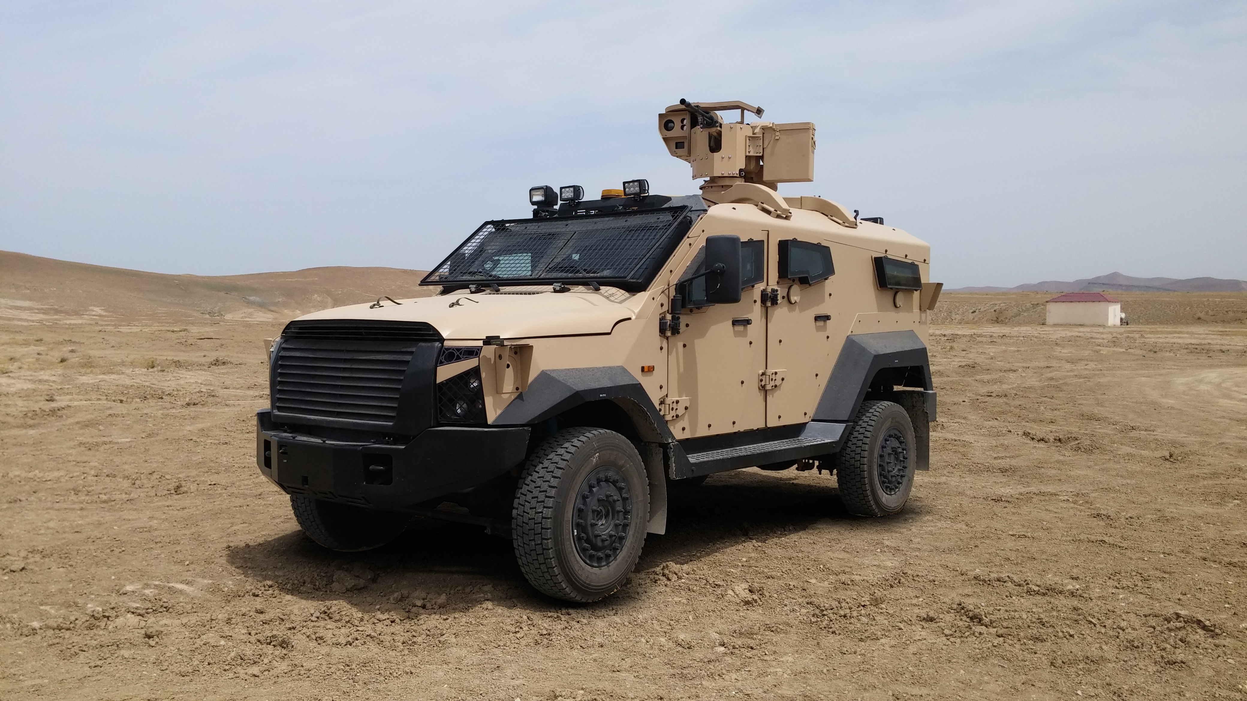 SandCat 4×4 Light Armored Vehicle 001