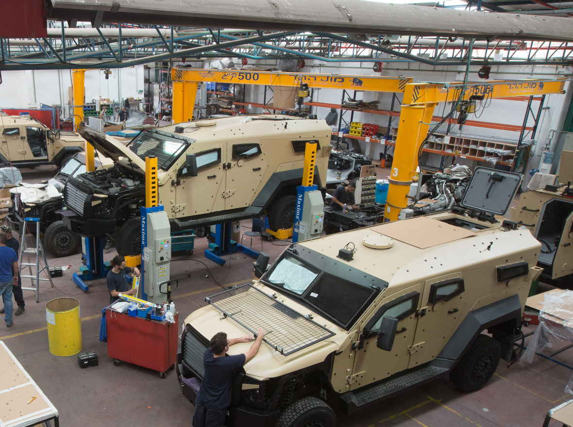 The company for the assembly of armored vehicles Paramount in Kazakhstan 23